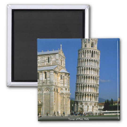 Tower of Pisa, Italy Magnet