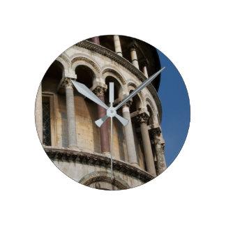 Tower of Pisa, Italy Round Clock
