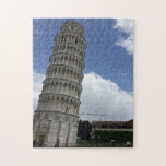 """Tower of Pisa Jigsaw Puzzle<br><div class=""""desc"""">A photo of the Tower of Pisa in Pisa,  Italy that I took on Study Abroad in 2015. Earnings support my trip to Ireland,  Scotland,  England,  and Spain in 2017!</div>"""