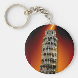 Tower of Pisa Keychain