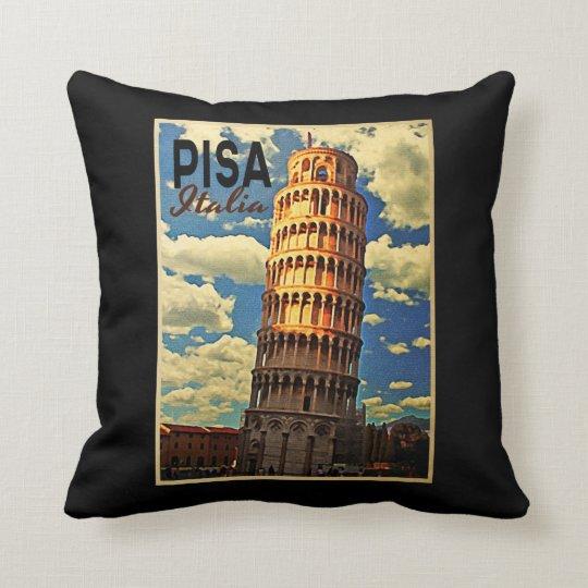 Tower Of Pisa ltaly Throw Pillow