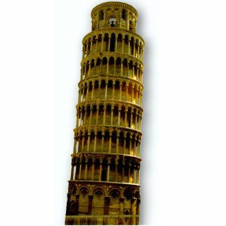 Tower of Pisa PhotoSculpture photosculpture