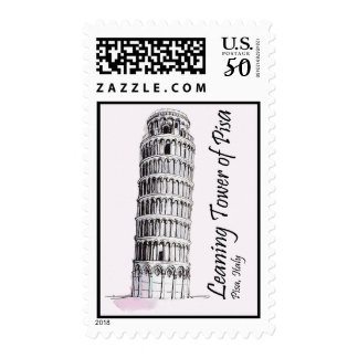 Tower of Pisa Postage