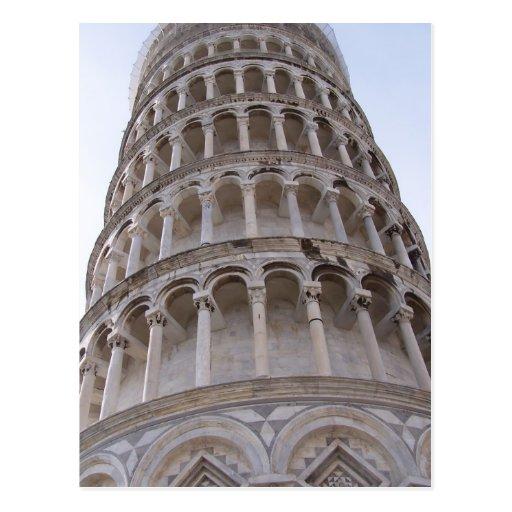Tower of Pisa Postcard