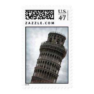 Tower of Pisa Stamp