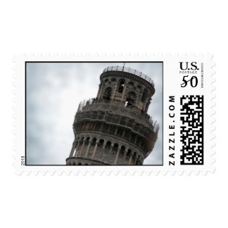 Tower of Pisa Stamp - Travel Photography