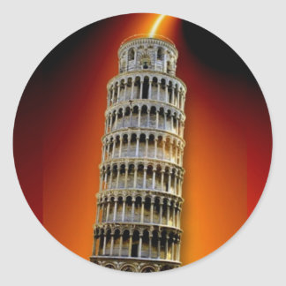 Tower of Pisa Sticker