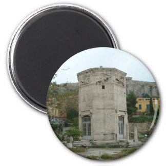 Tower of the Winds 2 Inch Round Magnet