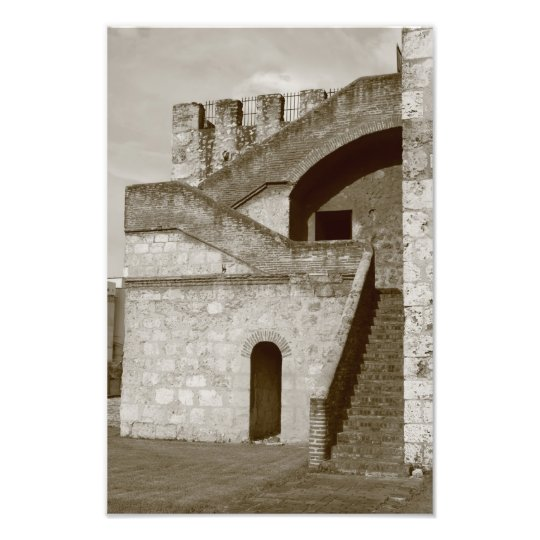 Tower Ozama Santo Domingo Dominican Republic Photo Print