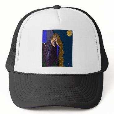 jasmineflynn Tower Princess Trucker Hat