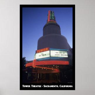 Tower, Sacramento Poster