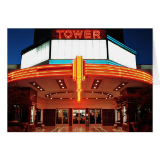 Tower Theater, Sacramento, California Greeting Cards
