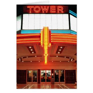 Tower Theater, Sacramento, California Card