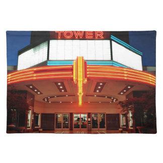 Tower Theater, Sacramento, California Placemat