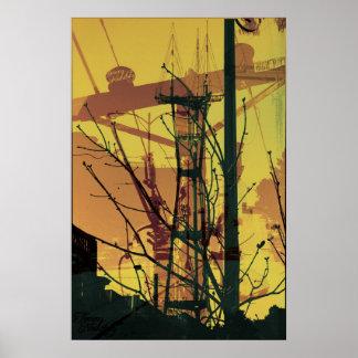 Tower Tree Print