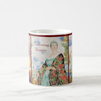 Towering Beauty of Little Nell the Blackpool Belle Coffee Mug