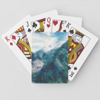Towering Himalayan mountains Playing Cards