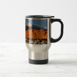 Towering Over the Monolith Travel Mug