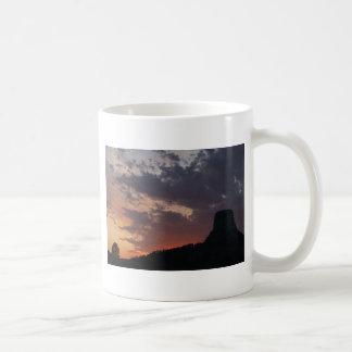 Towering Sunset Coffee Mug