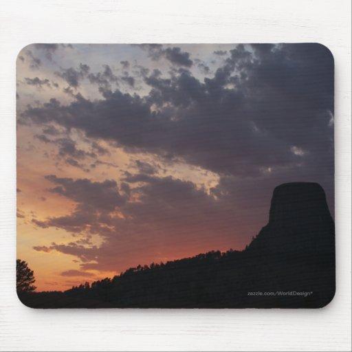Towering Sunset Mousepads