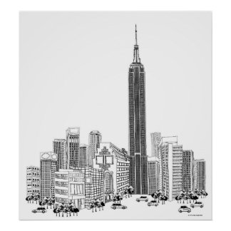 Towering Tower Poster