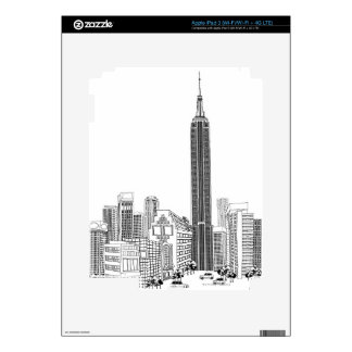 Towering Tower iPad 3 Decal