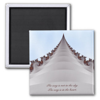 Towering Tree Motivational Buddha Quote Magnet