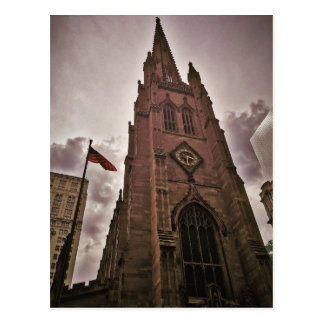 Towering Trinity Church Postcard