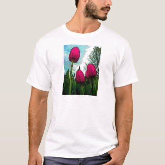 Towering Tulips Basic T-Shirt