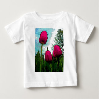 Towering Tulips Infant T-Shirt