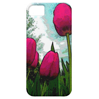 Towering Tulips iPhone 5 Case