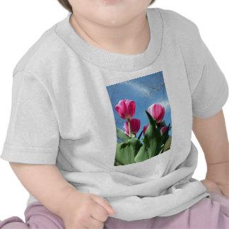 Towering Tulips Tee Shirts