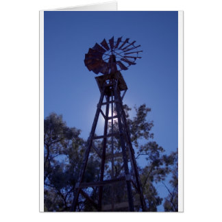 Towering Windmill Card