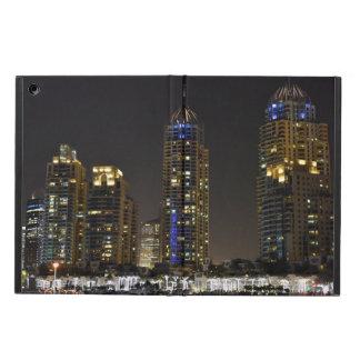 Towers in Dubai Marina at night Cover For iPad Air