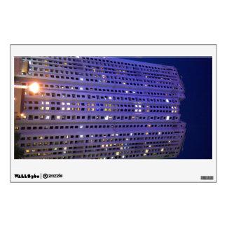 Towers in Dubai Marina at night Wall Sticker