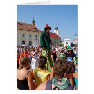 Towers in Sibiu Greeting Cards