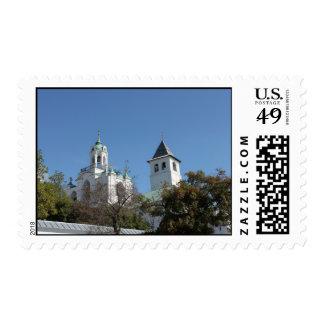Towers of ancient Yaroslavl Postage Stamp