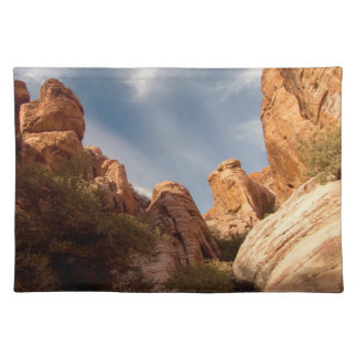Towers of Red Rock Cloth Placemat