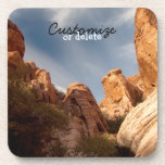 Towers of Red Rock; Customizable Beverage Coasters