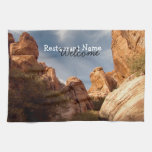 Towers of Red Rock; Promotional Kitchen Towel