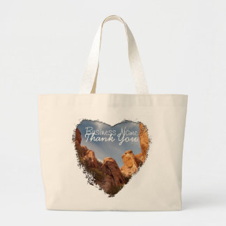 Towers of Red Rock; Promotional Large Tote Bag