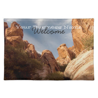 Towers of Red Rock; Promotional Placemat