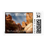 Towers of Red Rock; Promotional Postage Stamp