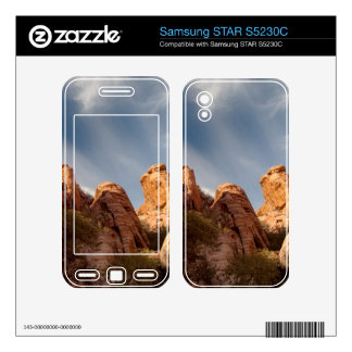 Towers of Red Rock Samsung STAR S5230C Skin