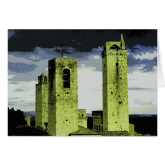 Towers of San Gimignano, Italy Cards