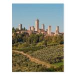 Towers of San Gimignano, Tuscany, Italy Post Cards