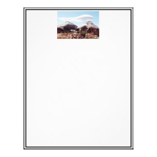 Towers of the Virgin at Zion National Park Letterhead Design