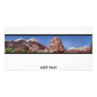 Towers of the Virgin Panoramic Photo Card