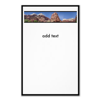 Towers of the Virgin Panoramic Stationery
