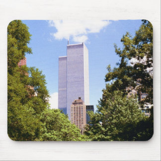 Towers Through the Trees Mouse Pad